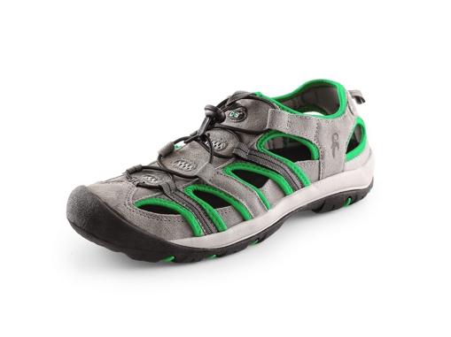 Obrázek z CXS SAHARA, šedo-zelená Outdoor obuv