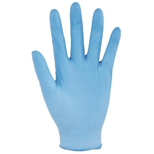 Obrázek z PROTECTS HYGIENIC VINYL modré Pracovní rukavice
