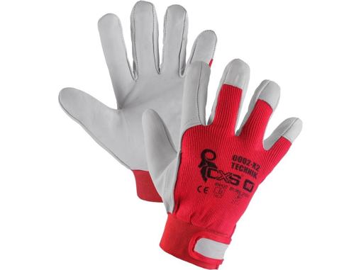 Obrázek z CXS TECHNIK Pracovní kombinované rukavice