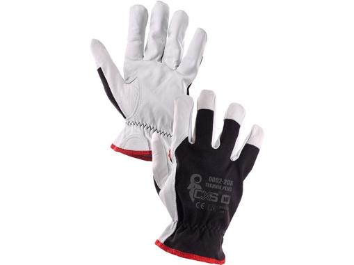 Obrázek z CXS TECHNIK PLUS Pracovní kombinované rukavice