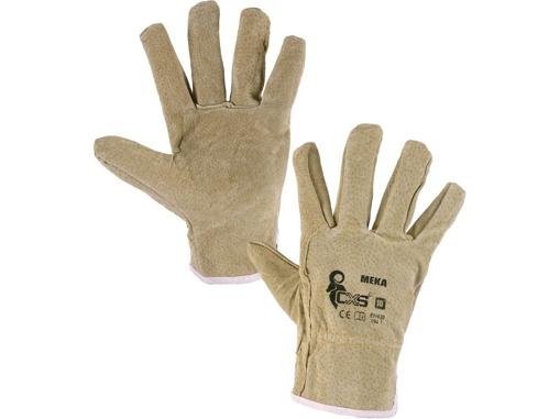 Obrázek z CXS MEKA Pracovní kožené rukavice