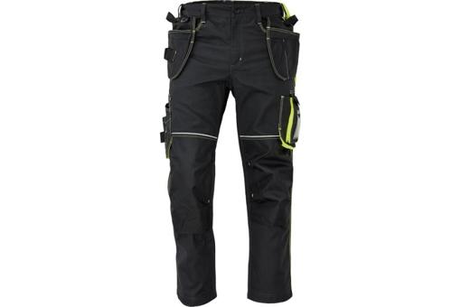 Obrázek z KNOXFIELD 310 Pracovní kalhoty do pasu - antracit / žlutá