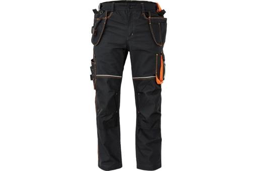 Obrázek z KNOXFIELD 310 Pracovní kalhoty do pasu - antracit / oranžová
