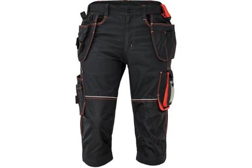 Obrázek z KNOXFIELD 320 Pracovní 3/4 kalhoty - antracit / červená