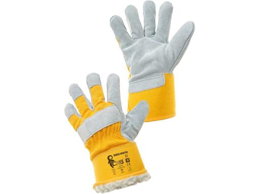 Obrázek z CXS DINGO WINTER Pracovní kombinované rukavice zimní
