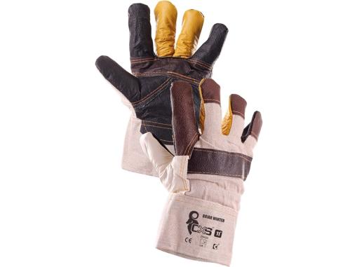 Obrázek z CXS BOJAR WINTER Pracovní kombinované rukavice zimní