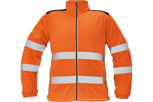 Obrázek z KNOXFIELD HI-VIS Pánská fleecová bunda oranžová