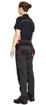 Obrázek z KNOXFIELD LADY Pracovní kalhoty do pasu - antracit / červená