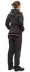 Obrázek z KNOXFIELD LADY Pracovní mikina s kapucí - antracit / červená