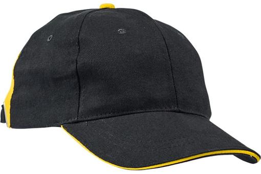 Obrázek z KNOXFIELD Kšiltovka černá / žlutá