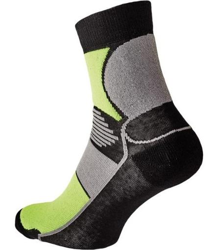 Obrázek z KNOXFIELD BASIC Ponožky černá / žlutá