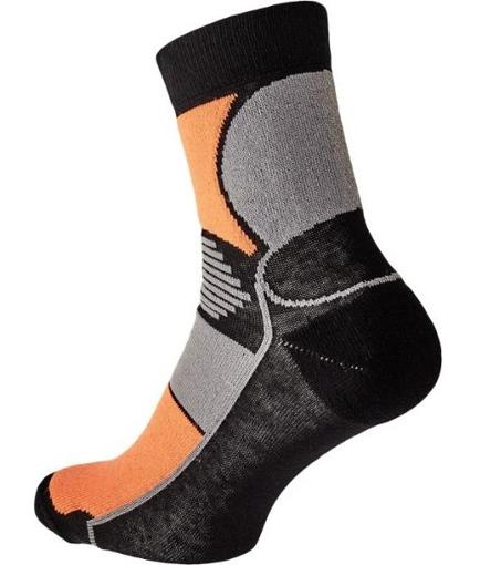 Obrázek z KNOXFIELD BASIC Ponožky černá / oranžová