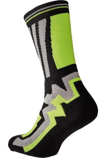 Obrázek z KNOXFIELD LONG Ponožky černá / žlutá
