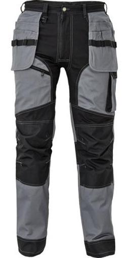 Obrázek z Červa KEILOR Pracovní kalhoty do pasu šedé