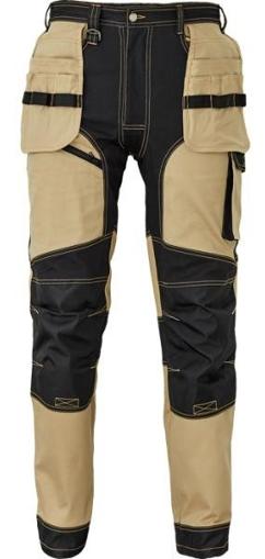 Obrázek z Červa KEILOR Pracovní kalhoty do pasu béžové