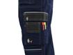 Obrázek z CXS ORION TEODOR Pracovní kalhoty tm. modro / černé