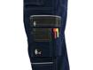 Obrázek z CXS ORION KRYŠTOF Pracovní kalhoty s laclem tm. modro / černé