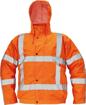 Obrázek z Červa CLOVELLY PILOT RWS Reflexní bunda oranžová 2v1 - zimní
