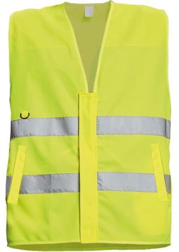 Obrázek z Červa LYNX PROFI Reflexní vesta žlutá
