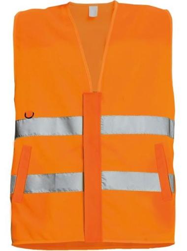 Obrázek z Červa LYNX PROFI Reflexní vesta oranžová
