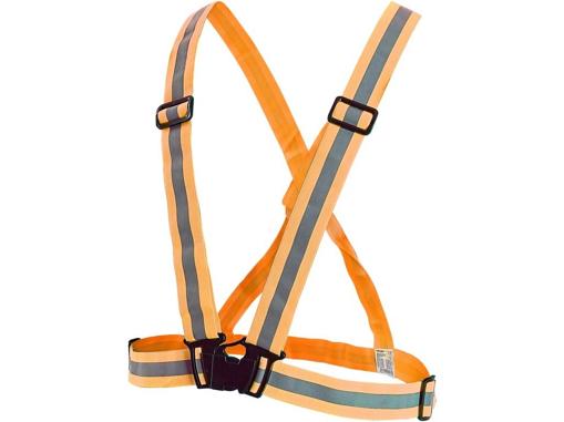 Obrázek z CXS CROSS Reflexní elastický kříž oranžový