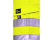 Obrázek z CXS NORWICH Reflexní pracovní kraťasy - žluté