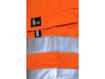 Obrázek z CXS NORWICH Reflexní pracovní kraťasy - oranžové