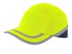 Obrázek z CXS CALLUM Reflexní kšiltovka s plastovou výztuhou žlutá