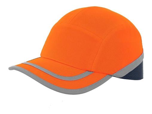 Obrázek z CXS CALLUM Reflexní kšiltovka s plastovou výztuhou oranžová