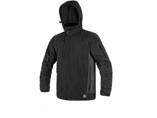 Obrázek z CXS DURHAM Pánská softshellová bunda černá