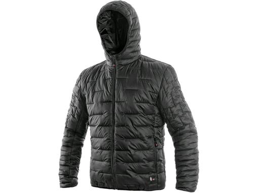 Obrázek z CXS LOUISIANA Pánská bunda černá - zimní
