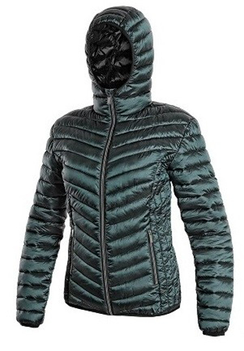 Obrázek z CXS OCEANSIDE Dámská bunda zimní tm. zelená