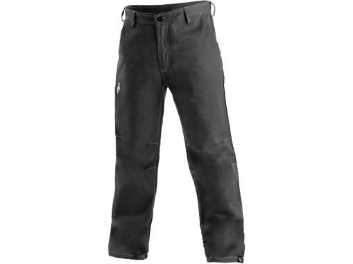 Obrázek z CXS REDMOND Pánské kalhoty do pasu šedé