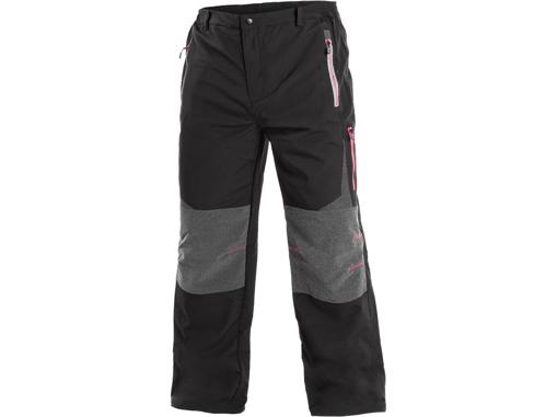 Obrázek z CXS MONTREAL Pánské kalhoty černo / červené
