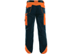 Obrázek z CXS SIRIUS BRIGHTON Pracovní kalhoty modro-oranžová