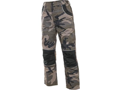 Obrázek z CXS WOODY Dětské kalhoty do pasu maskáčové
