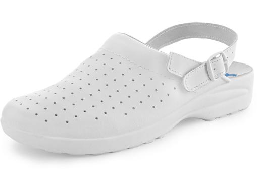 Obrázek z CXS WHITE MISA Pracovní sandále
