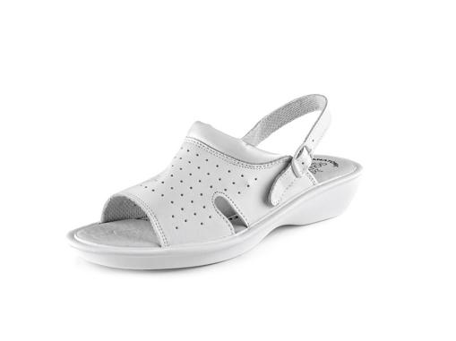 Obrázek z CXS WHITE LIME Pracovní sandále