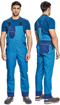 Obrázek z Červa MONTROSE Pracovní kalhoty s laclem modré