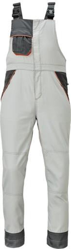 Obrázek z Červa MONTROSE Pracovní kalhoty s laclem šedé