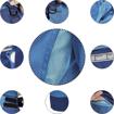 Obrázek z Červa MONTROSE LADY Pracovní kalhoty do pasu modré