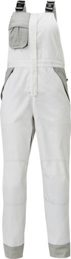 Obrázek z Červa MONTROSE LADY Pracovní kalhoty s laclem bílé