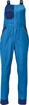 Obrázek z Červa MONTROSE LADY Pracovní kalhoty s laclem modré