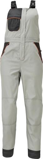 Obrázek z Červa MONTROSE LADY Pracovní kalhoty s laclem šedé