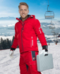 Obrázek z VISION Zimní softshellová bunda červená