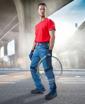 Obrázek z R8ED+ Pracovní kalhoty do pasu modré zkrácené
