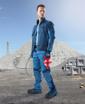 Obrázek z R8ED+ Montérková blůza modrá zkrácená