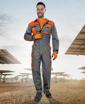 Obrázek z 2STRONG Pracovní overal šedo-oranžový