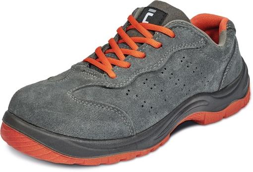 Obrázek z ČERVA MONTROSE ORANGE ESD S1P SRC Pracovní obuv