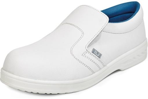 Obrázek z RAVEN WHITE MOCCASIN O2 SRC Pracovní obuv